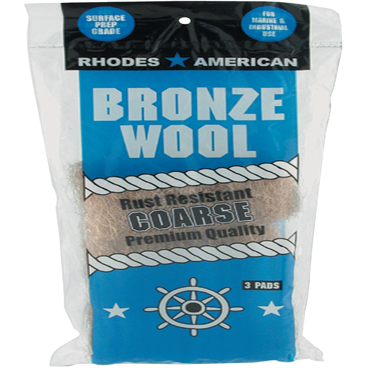 3PK COARSE BRONZE WOOL - 123102 by Homax Group Inc
