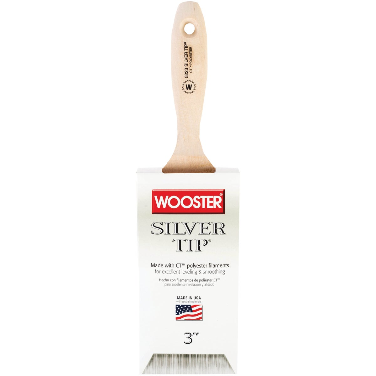 "3"" SILVER TIP WALL BRUSH - 5223-3 by Wooster Brush Co"