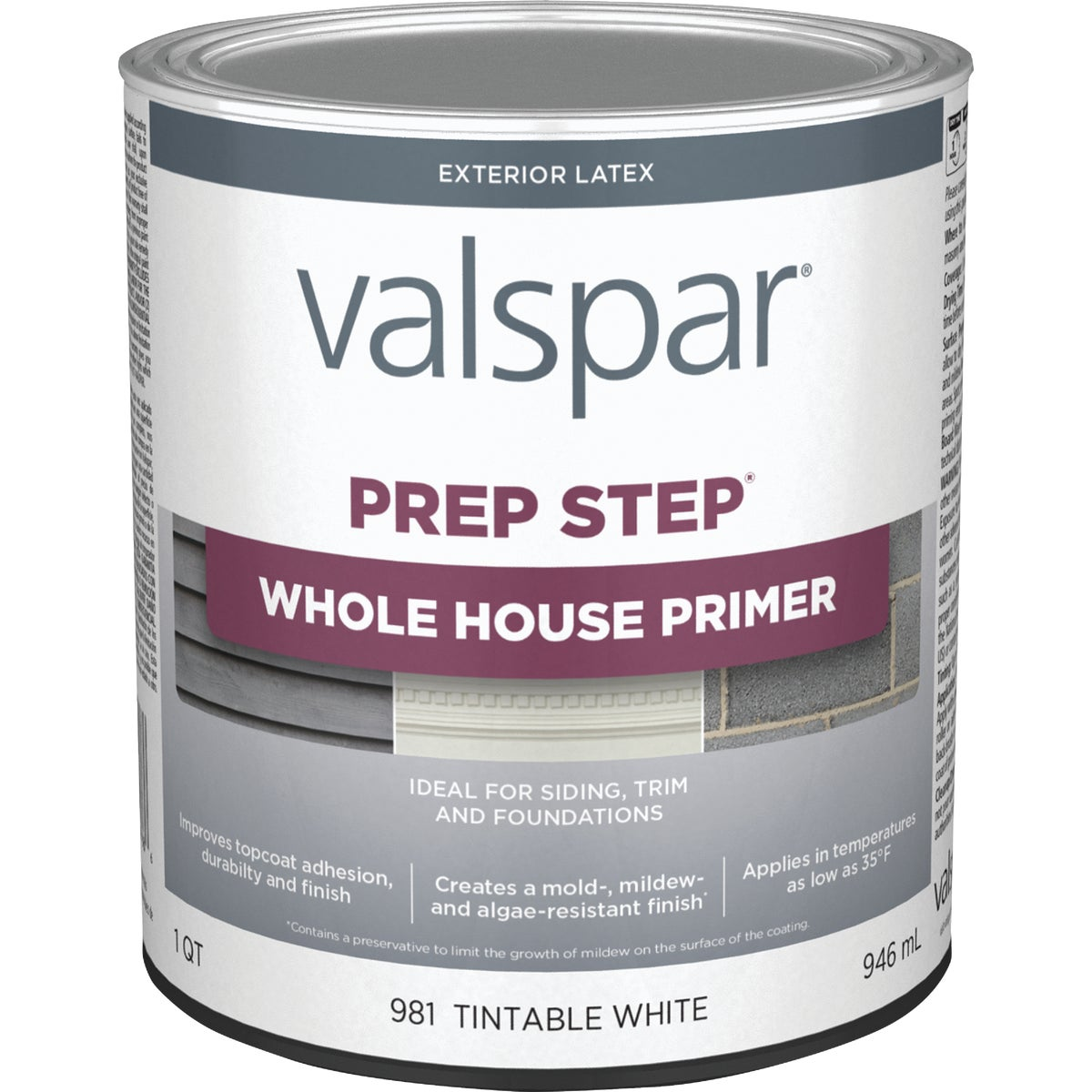 EXT LATEX WOOD PRIMER - 044.0000981.005 by Valspar Corp