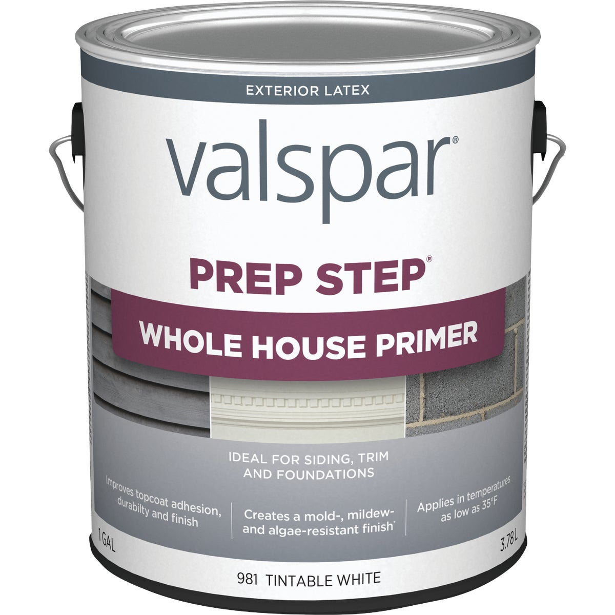 EXT LATEX WOOD PRIMER - 044.0000981.007 by Valspar Corp