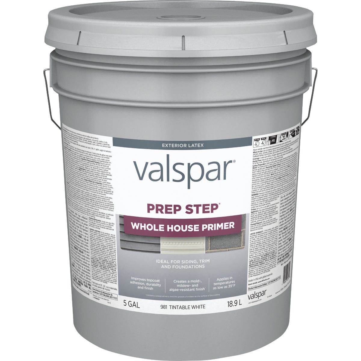 EXT LATEX WOOD PRIMER - 044.0000981.008 by Valspar Corp