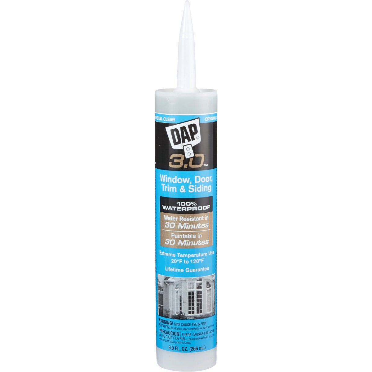 CRYSTAL CLEAR AP CAULK - 18362 by Dap Inc