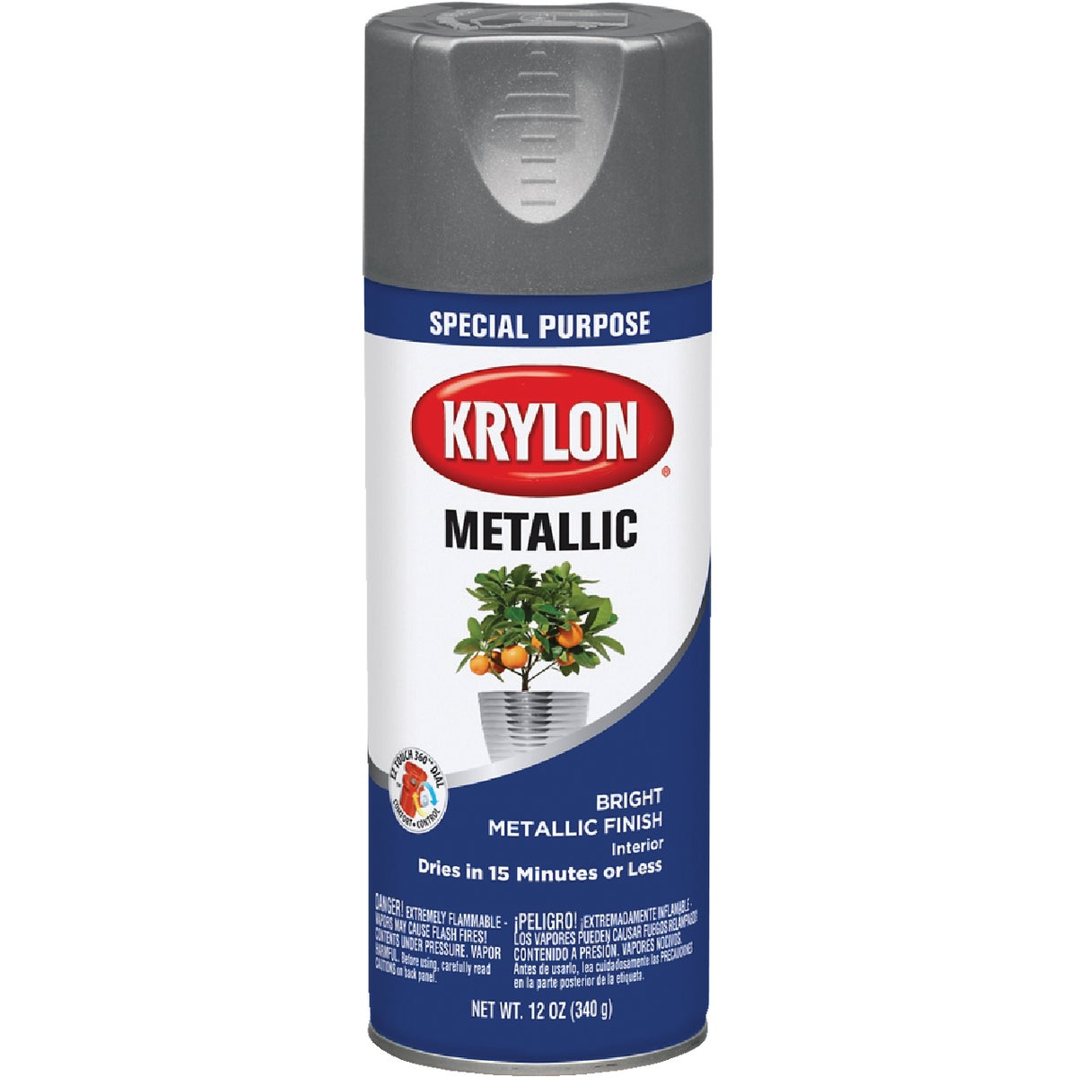 DULL ALUM SPRAY PAINT - 1403 by Krylon/consumer Div