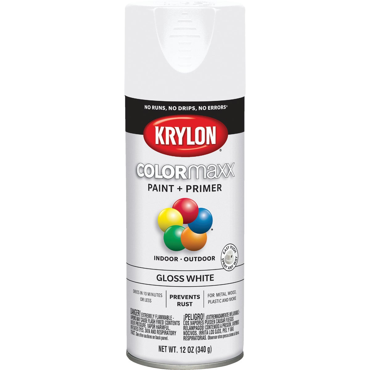 GLOSS WHITE SPRAY PAINT - 51501 by Krylon/consumer Div