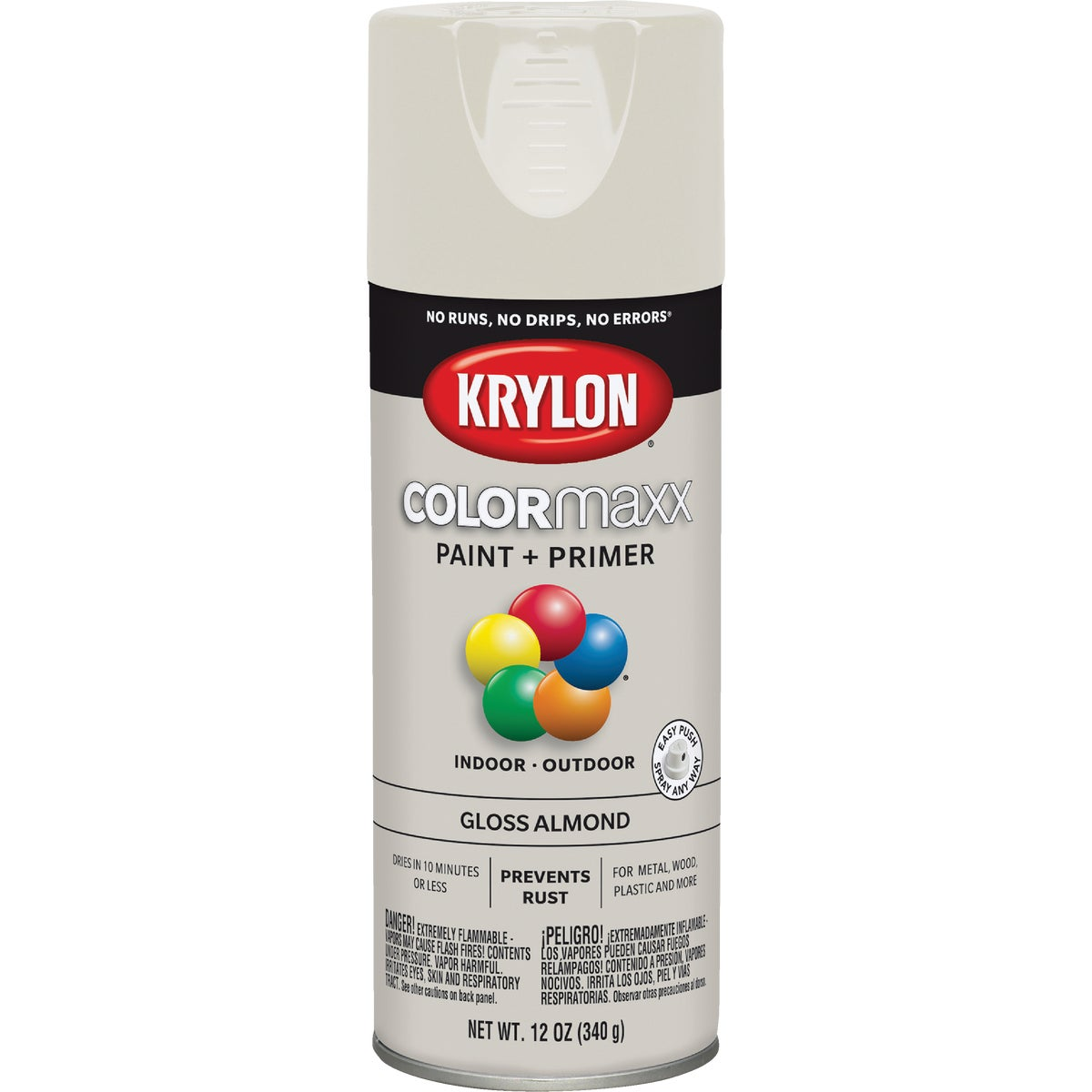GLOSS ALMOND SPRAY PAINT - 51506 by Krylon/consumer Div