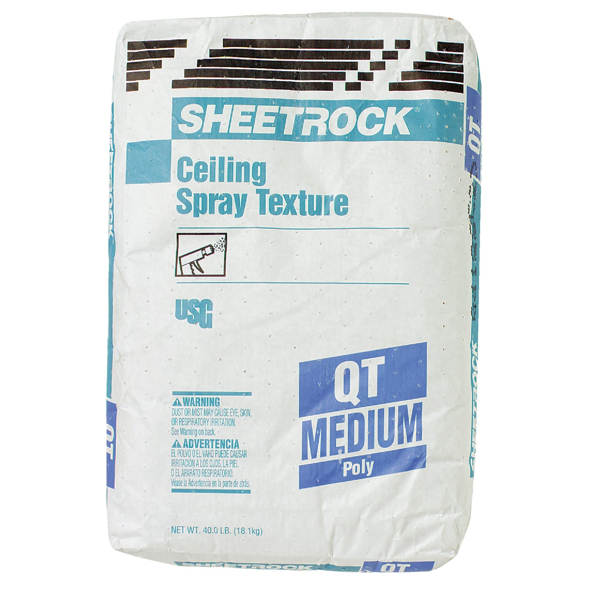 40LB QT MEDIUM TEXTURE - 540795 by U S Gypsum