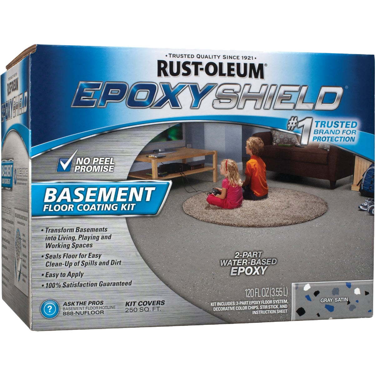 GRAY BASEMNT EPOXYSHIELD - 203007 by Rustoleum