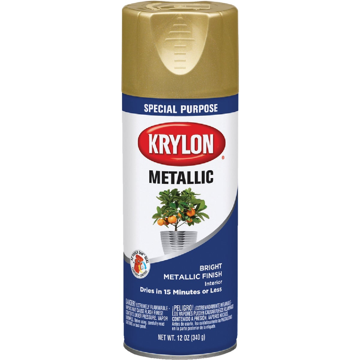 BRIGHT GOLD SPRAY PAINT - 1701 by Krylon/consumer Div
