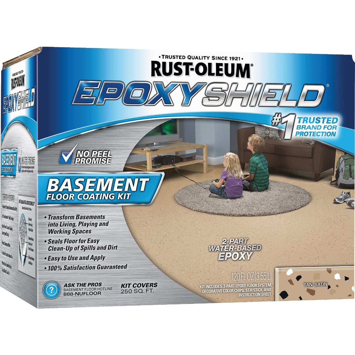 TAN BASEMENT EPOXYSHIELD - 203008 by Rustoleum