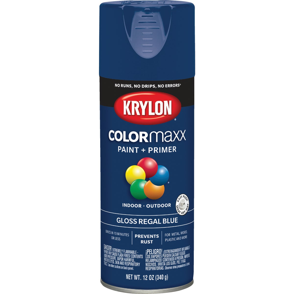 GLS RGL BLUE SPRAY PAINT - 51901 by Krylon/consumer Div