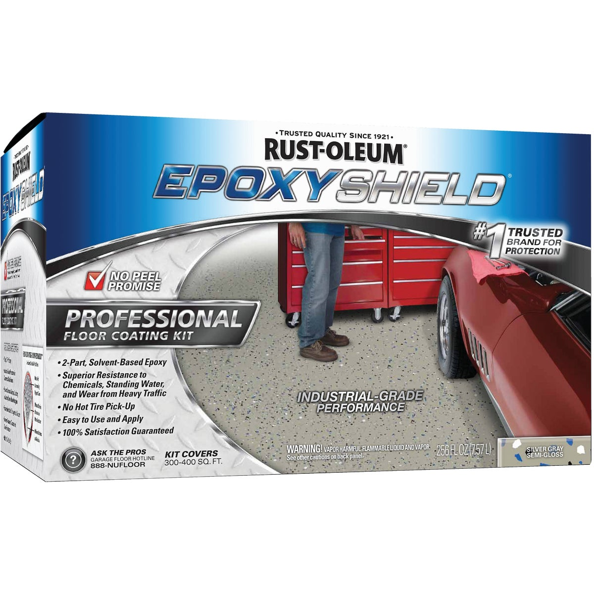 SIL/GRAY IND EPOXYSHIELD - 203373 by Rustoleum