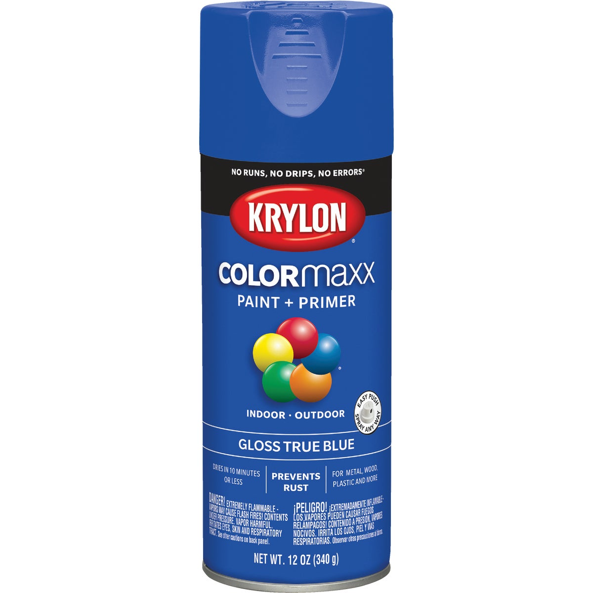GLS TRU BLUE SPRAY PAINT - 51910 by Krylon/consumer Div