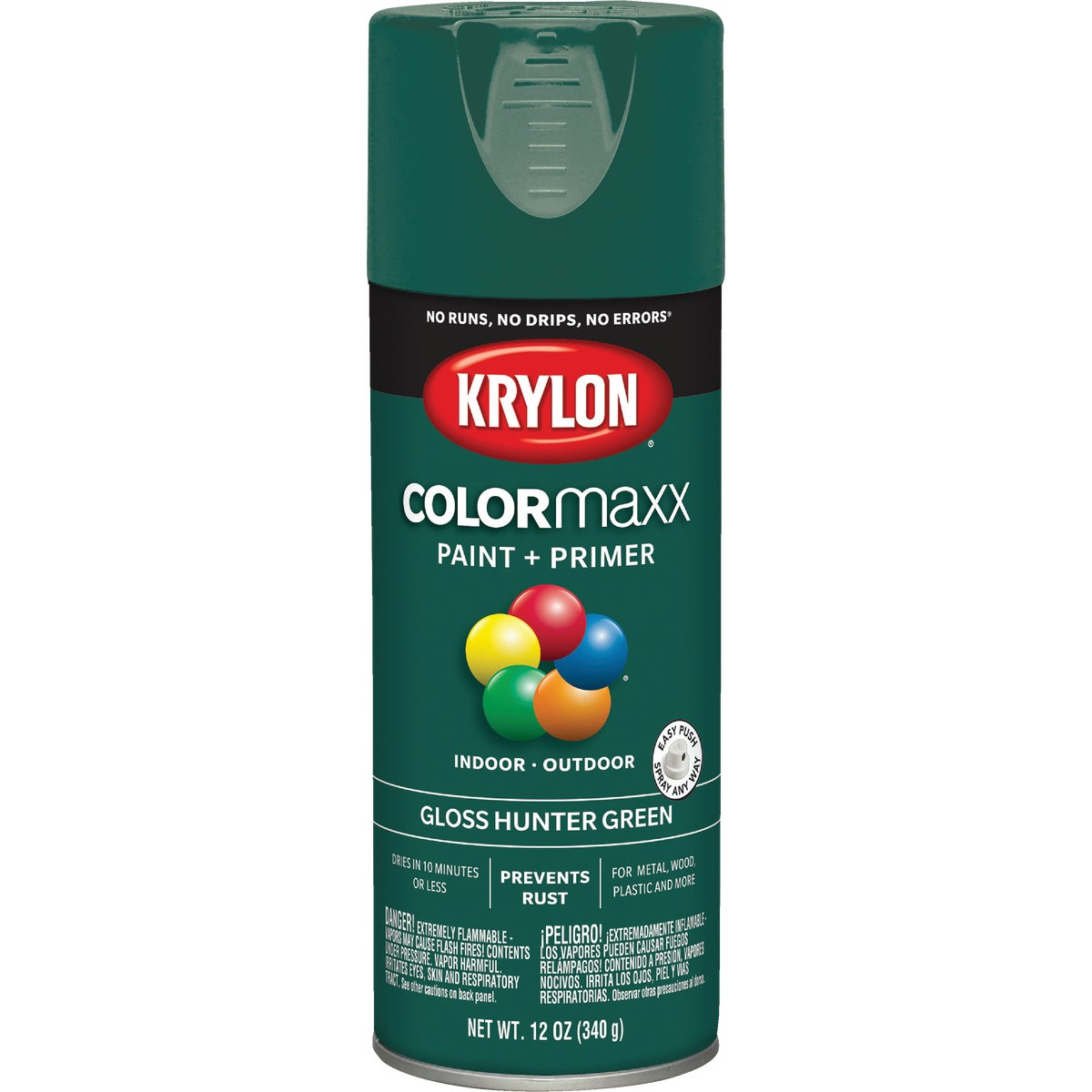 GLS HNTR GRN SPRAY PAINT - 52001 by Krylon/consumer Div