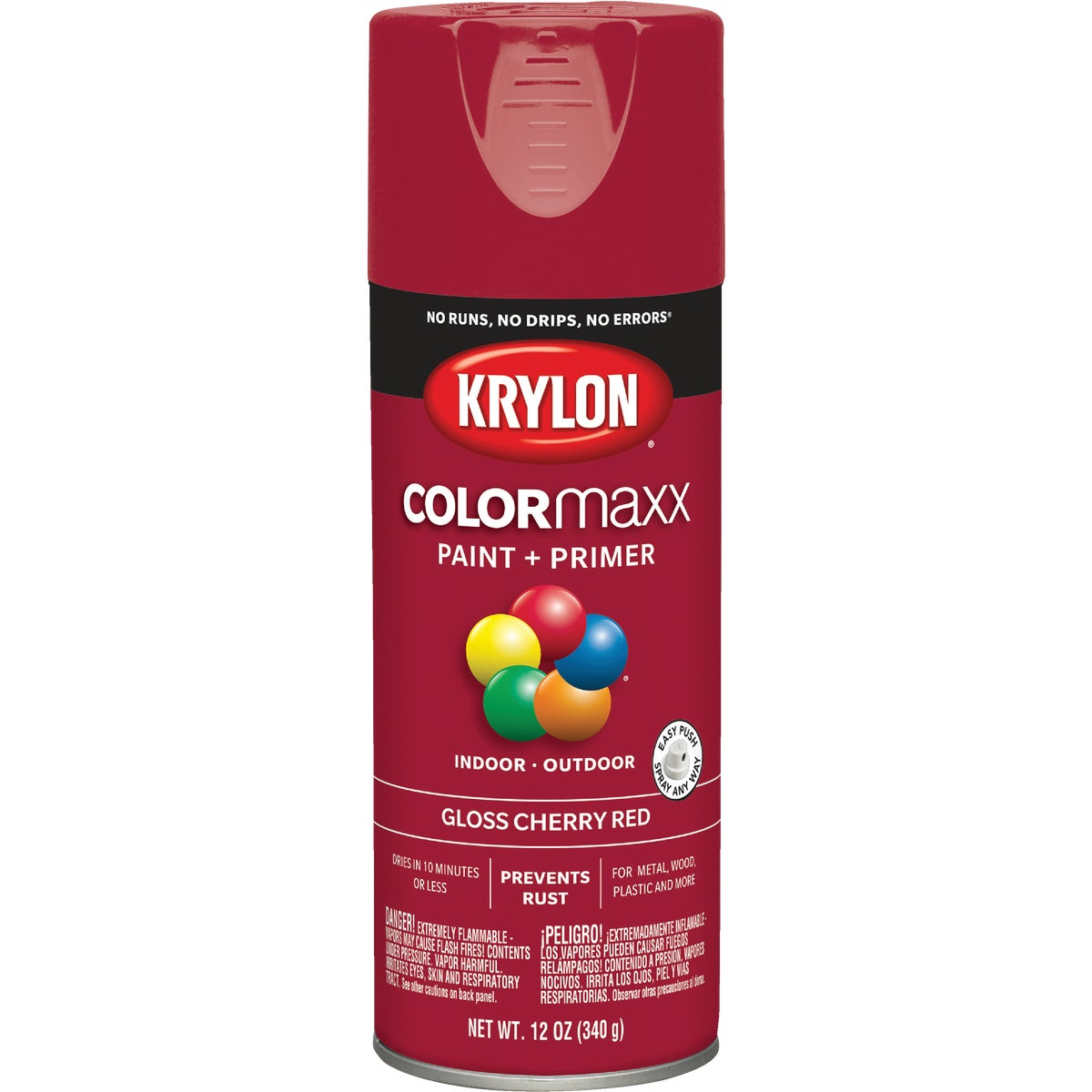 GLS CHRY RED SPRAY PAINT - 52101 by Krylon/consumer Div
