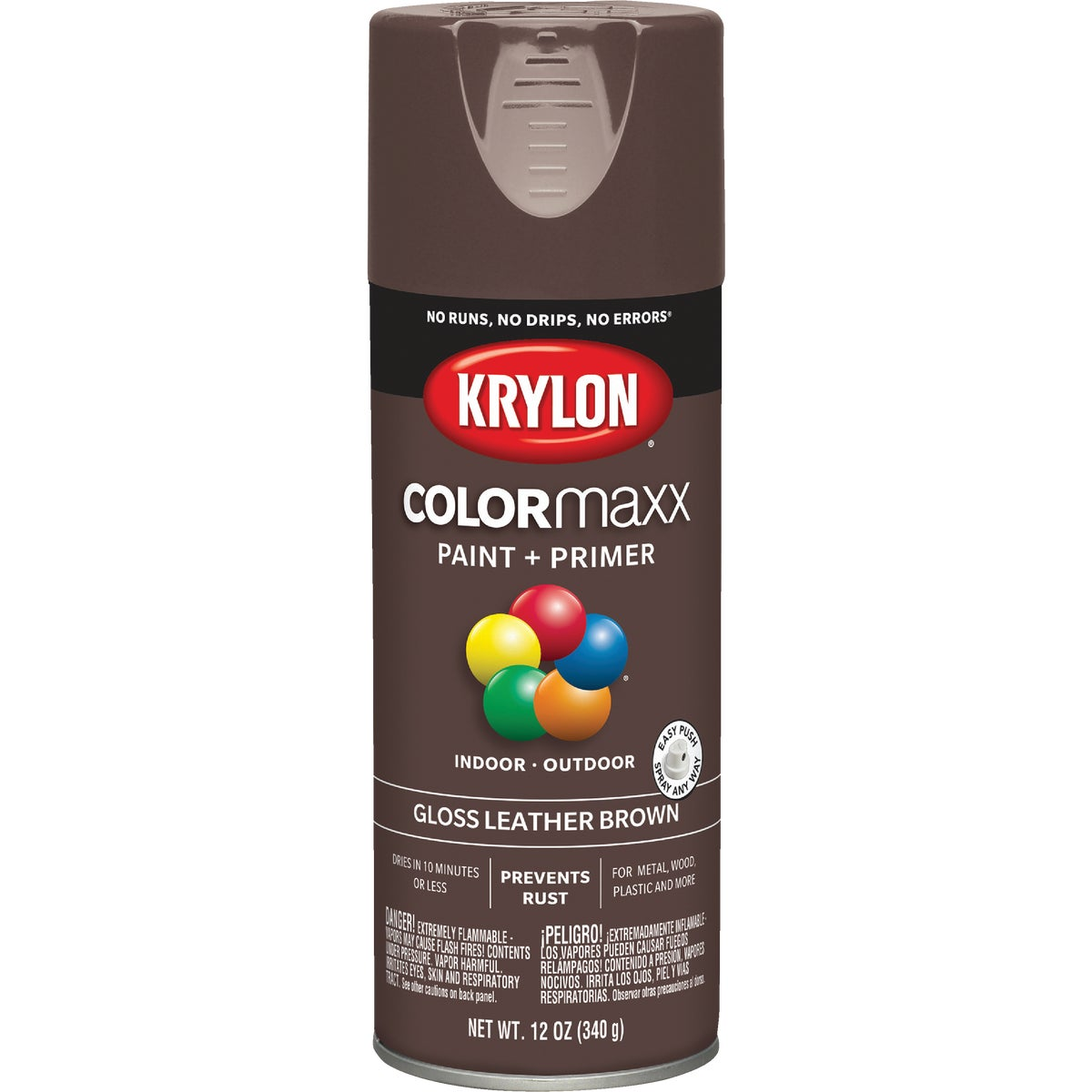 GLS L BROWN SPRAY PAINT - 52501 by Krylon/consumer Div
