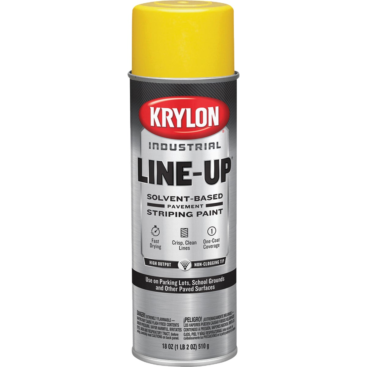 HGHWY YEL STRIPING PAINT - 5911 by Krylon/consumer Div