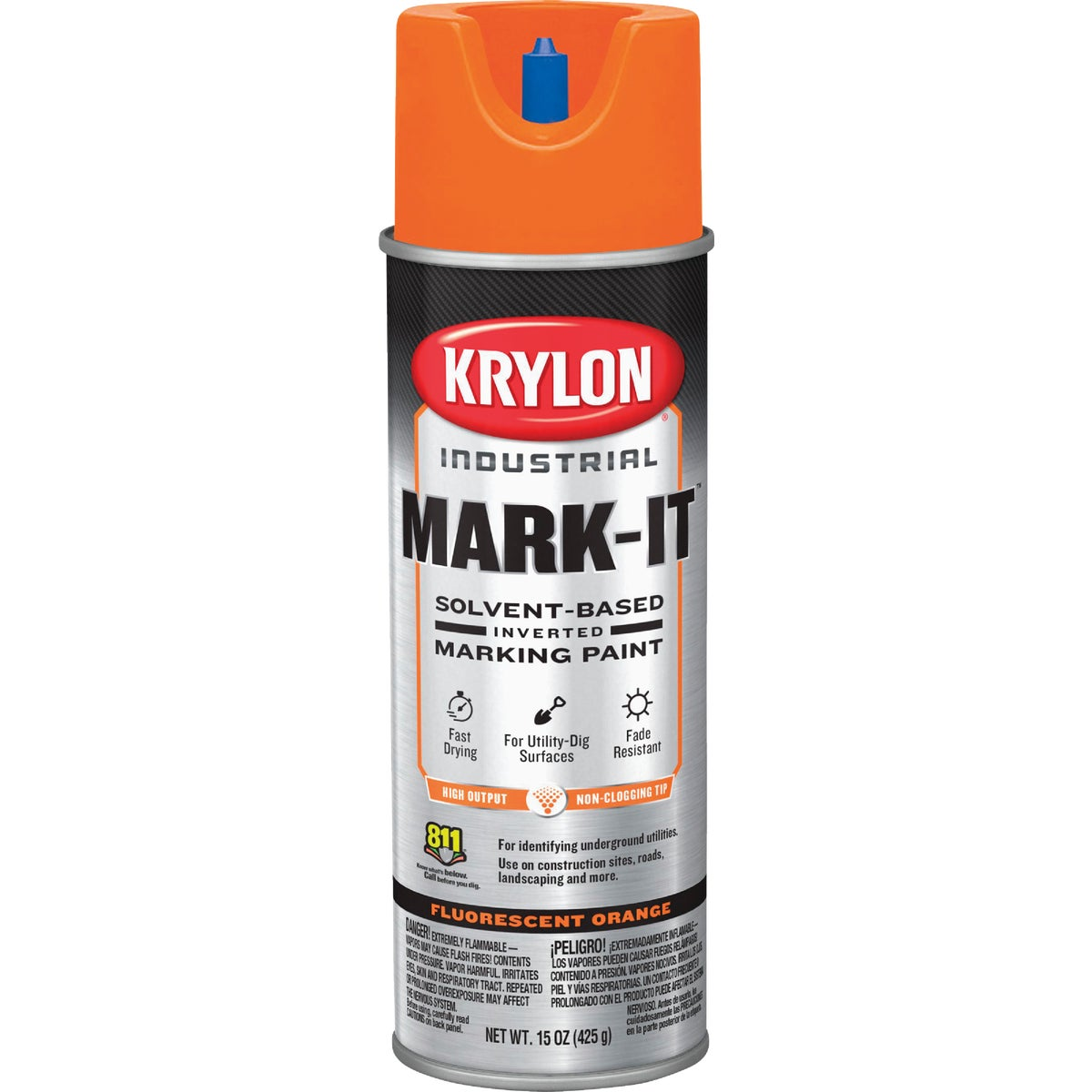FLUOR ORNG MARKING PAINT - 7307 by Krylon/consumer Div