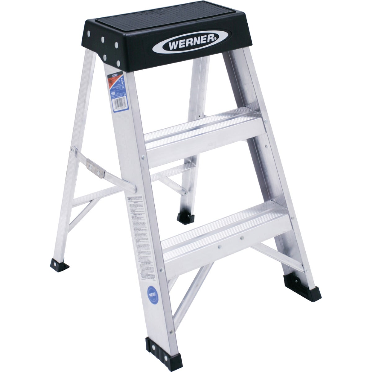 T-1A 2' ALUM STEPSTOOL - 150B by Werner Ladder