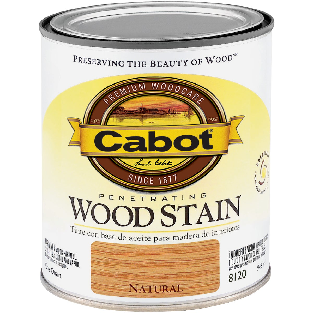 INT NATURAL WOOD STAIN - 144.0008120.005 by Valspar Corp