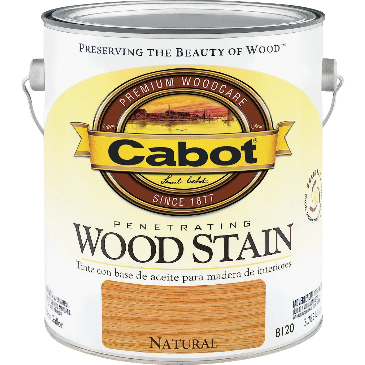 INT NATURAL WOOD STAIN - 144.0008120.007 by Valspar Corp