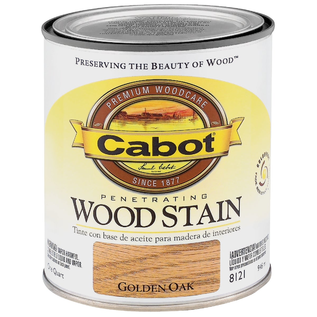 INT GOLDN OAK WOOD STAIN - 144.0008121.005 by Valspar Corp