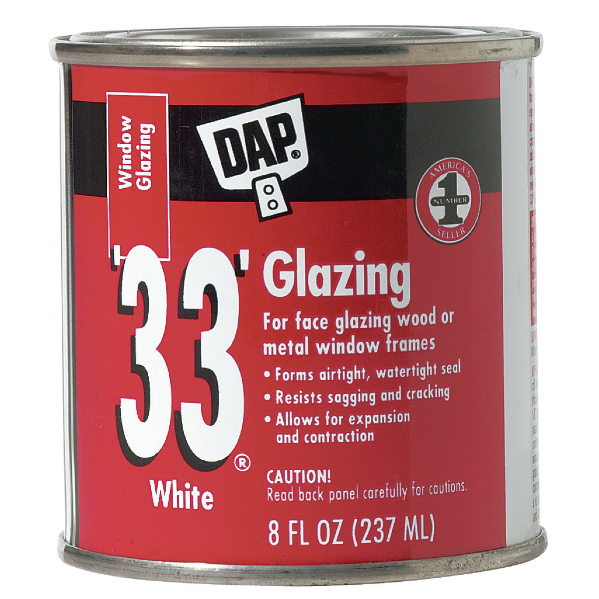 HPT WHT GLAZING COMPOUND - 12120 by Dap Inc