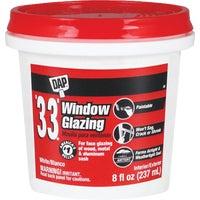 Dap HPT WHT GLAZING COMPOUND 12120