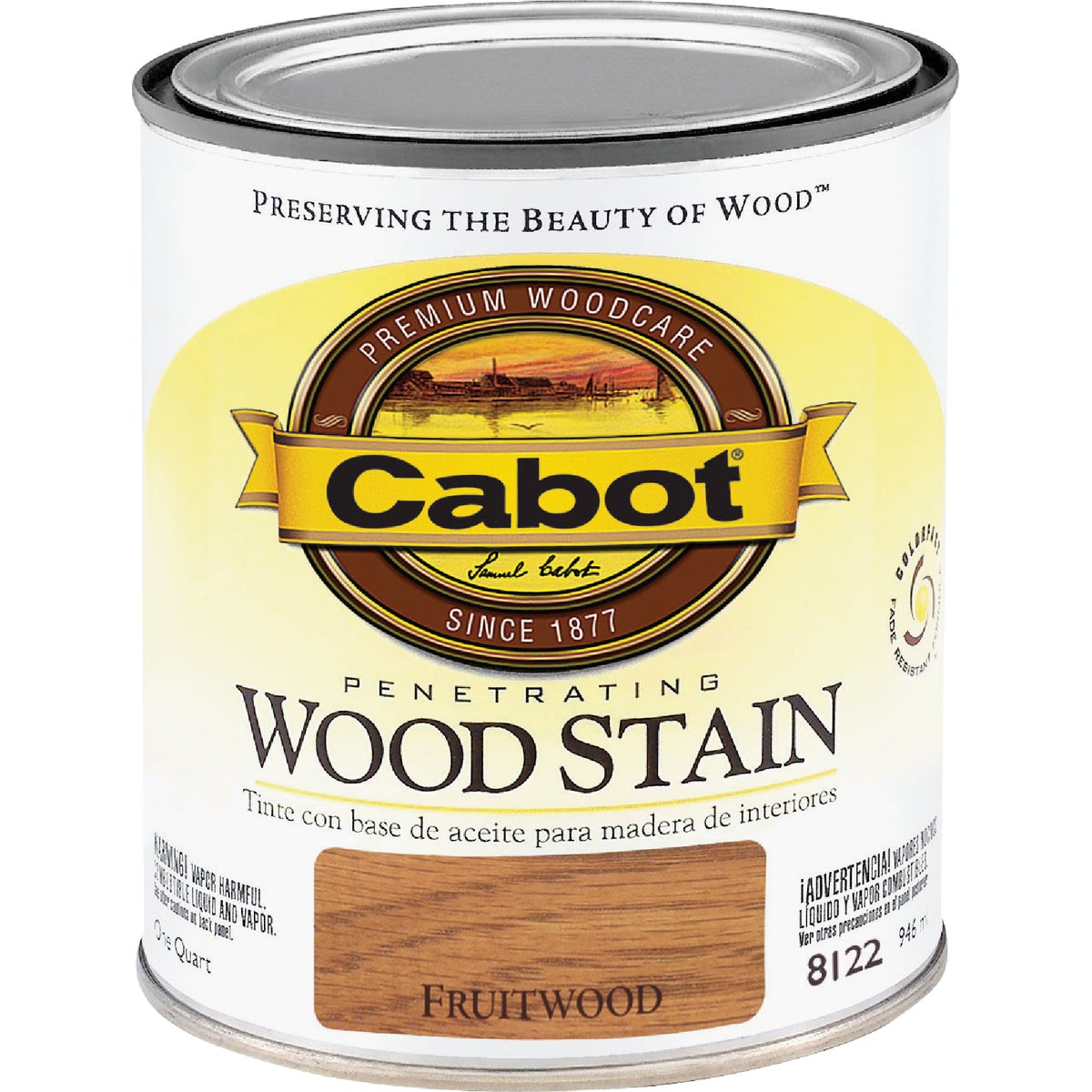 INT FRUITWOOD WOOD STAIN - 144.0008122.005 by Valspar Corp