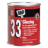 Dap PT WHT GLAZING COMPOUND 12121