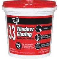 Dap QT WHT GLAZING COMPOUND 12122