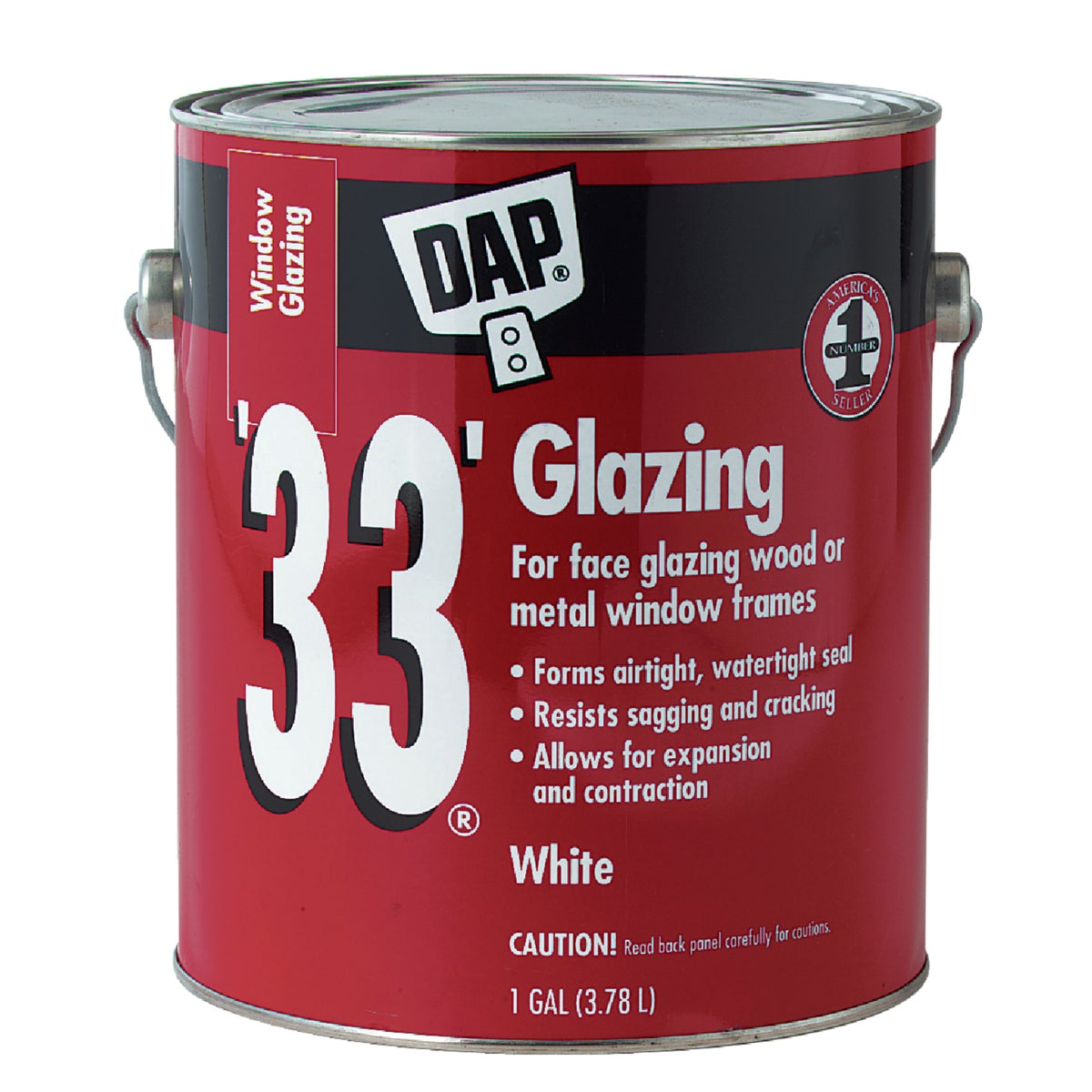 GAL WHT GLAZING COMPOUND - 12019 by Dap Inc