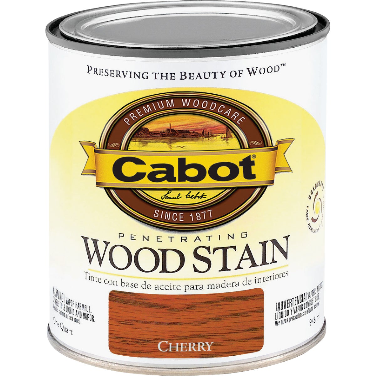 INT CHERRY WOOD STAIN - 144.0008124.005 by Valspar Corp