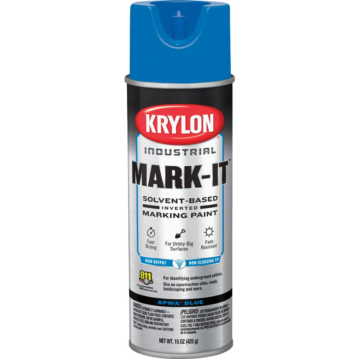 APWA BLUE MARKING PAINT - 7303 by Krylon/consumer Div