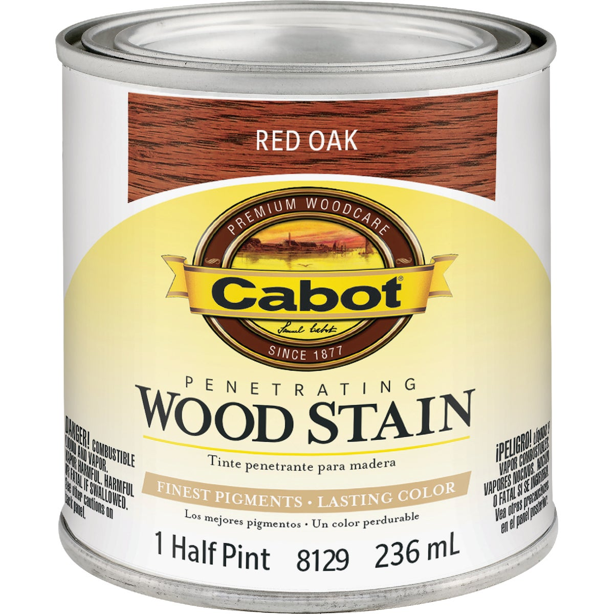 INT RED OAK WOOD STAIN - 144.0008129.003 by Valspar Corp