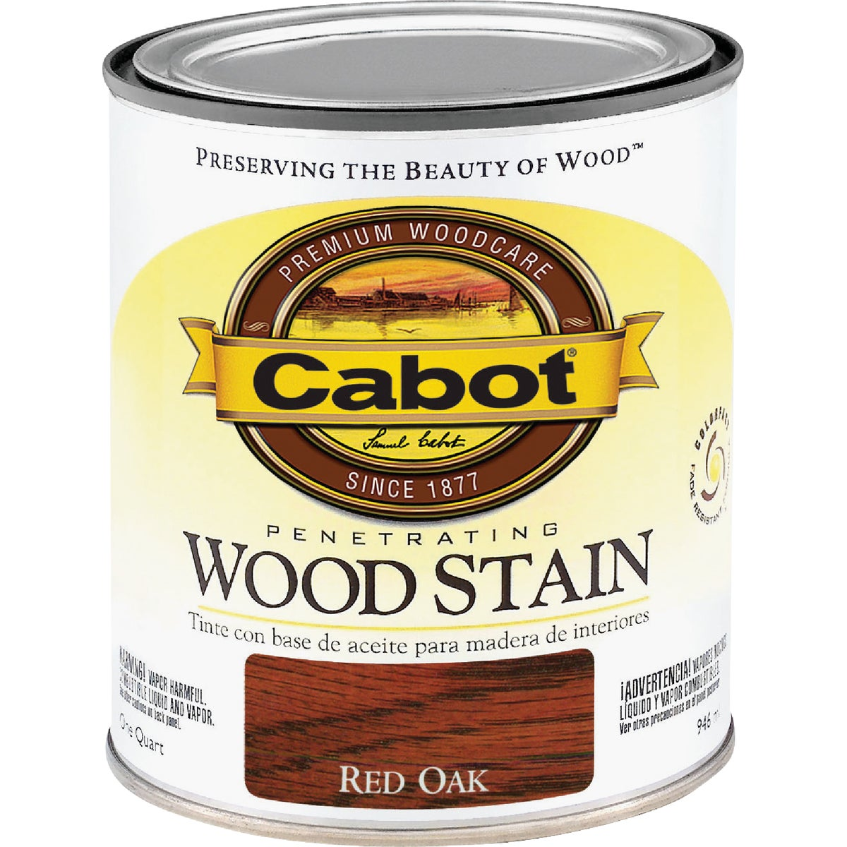 INT RED OAK WOOD STAIN - 144.0008129.005 by Valspar Corp