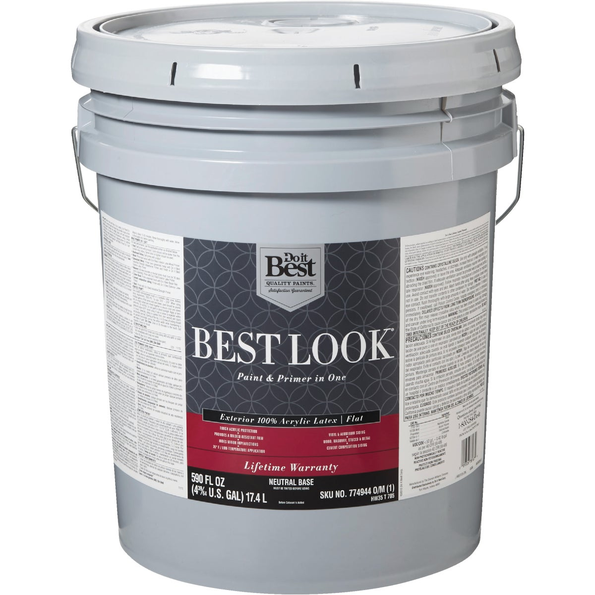 EXT FLAT NEUTRL BS PAINT - HW35T0705-20 by Do it Best