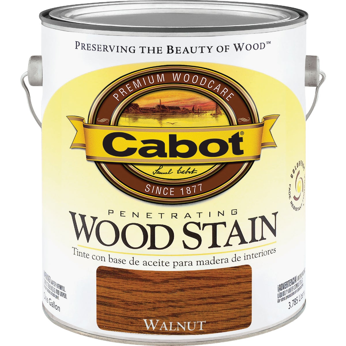 INT WALNUT WOOD STAIN - 144.0008130.007 by Valspar Corp