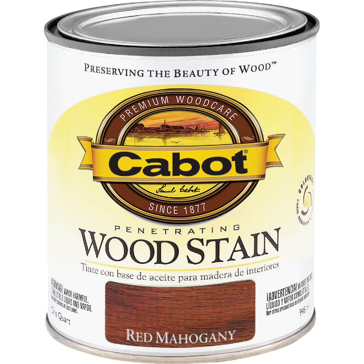 Valspar INT RED MAHOG WOOD STAIN 144.0008131.005