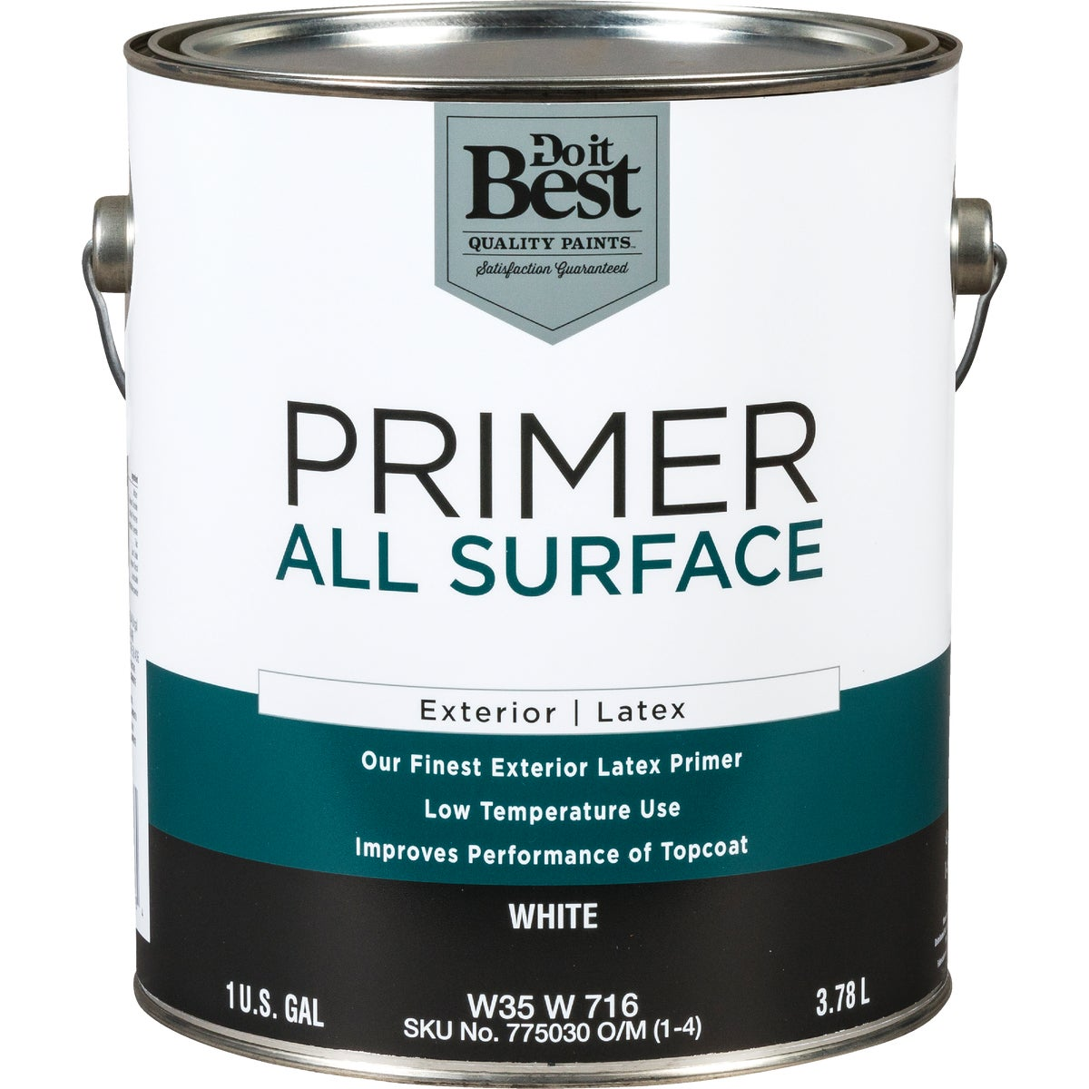 EXT WHITE LATEX PRIMER - W35W00716-16 by Do it Best