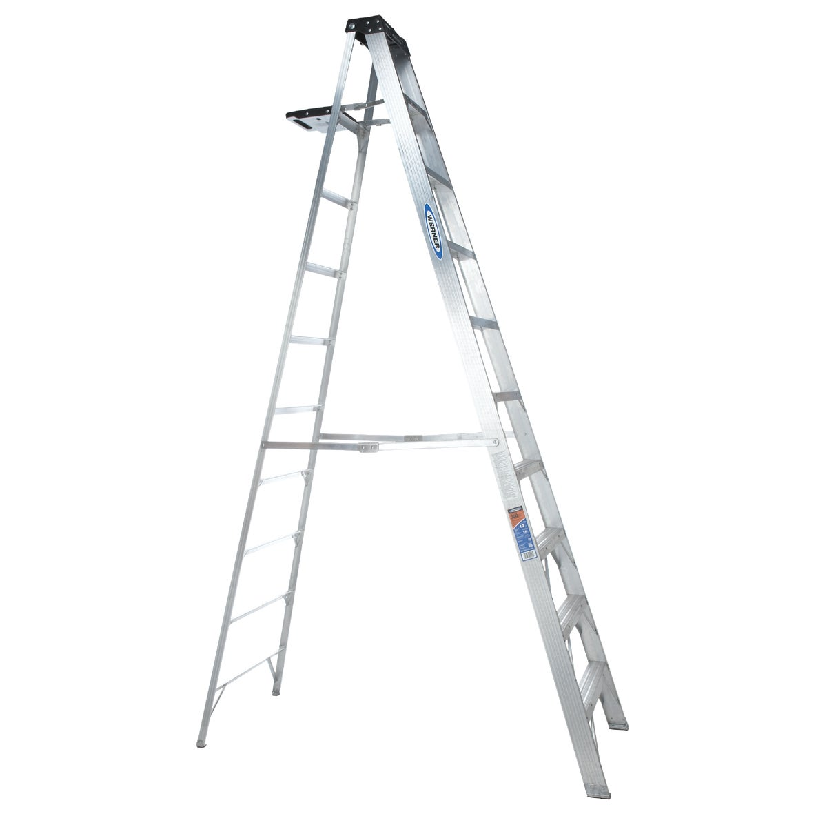 T-1A 10' ALUM STEPLADDER - 310 by Werner Ladder