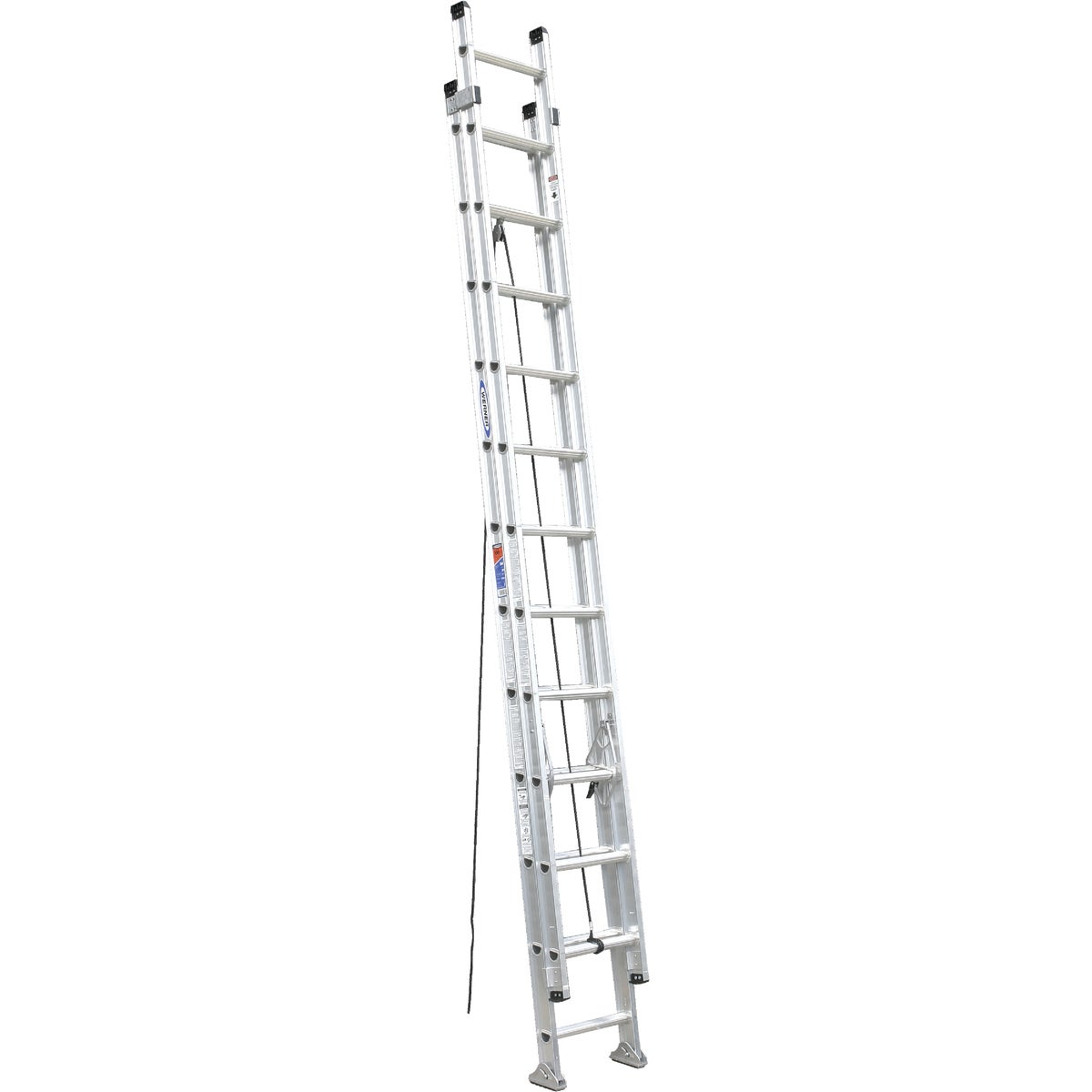 T-1A 24' ALUM EXT LADDER - D1524-2 by Werner Ladder