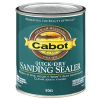 Cabot Interior Quick Dry Sanding Sealer & Finish, 144.0008065.005
