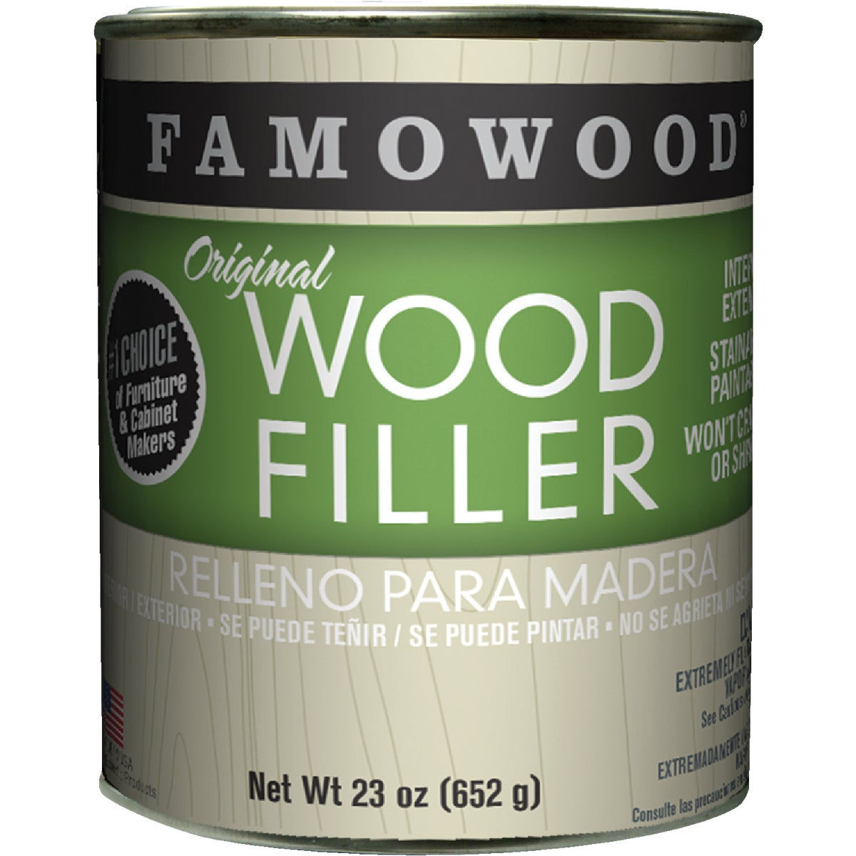 PINT NATURAL WOOD FILLER - 36021126 by Eclectic Prod Inc