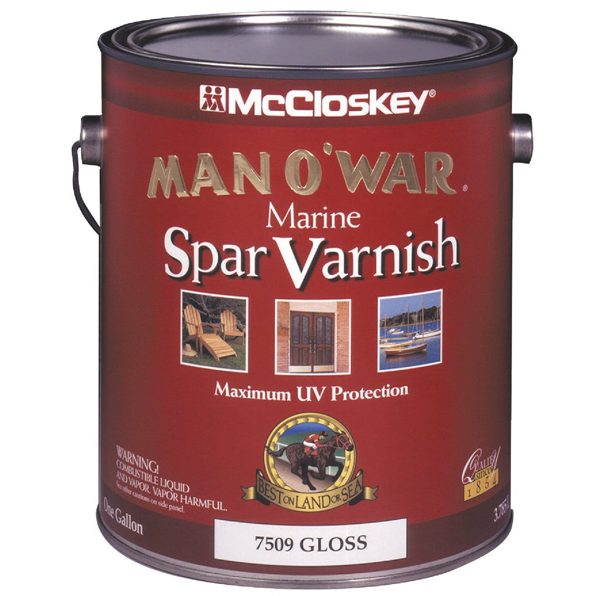 McCloskey Man O'War Spar Marine Varnish, Gallon