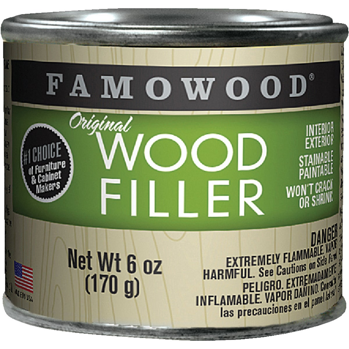 1/4PT WHT PN WOOD FILLER