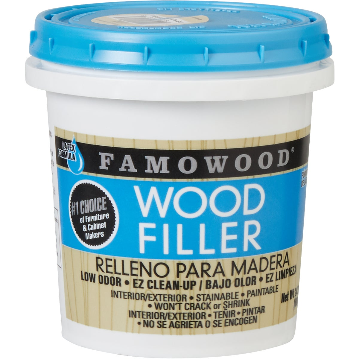 PINT NATURAL WOOD FILLER - 40022126 by Eclectic Prod Inc