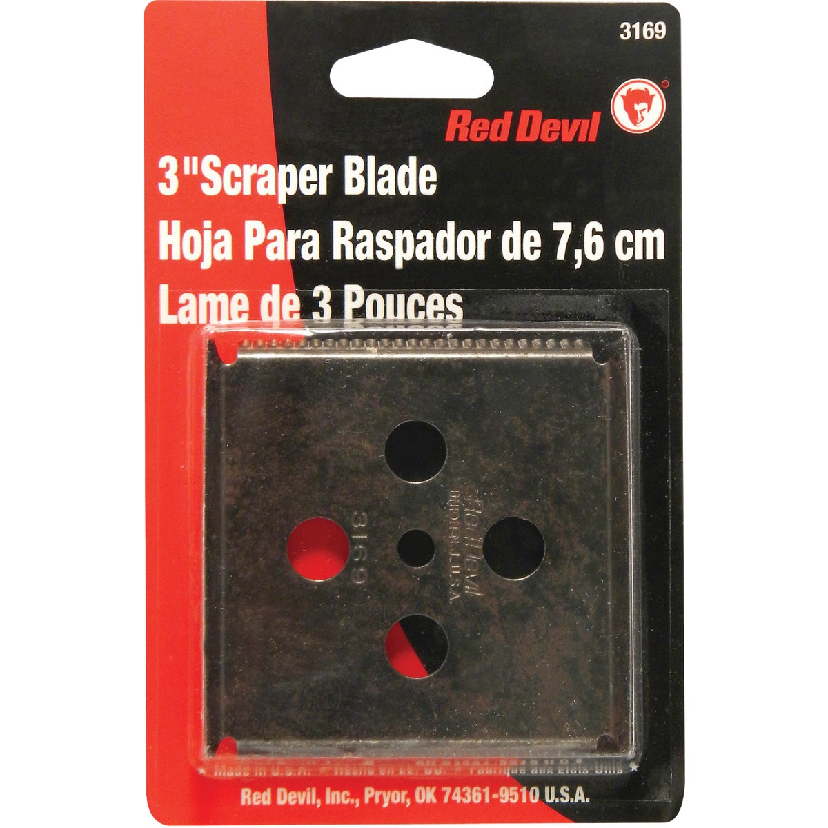 "3"" REPLC SCRAPER BLADE - 3169 by Red Devil"