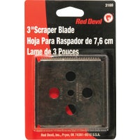 Red Devil Four-Edge Replacement Scraper Blade, 3169