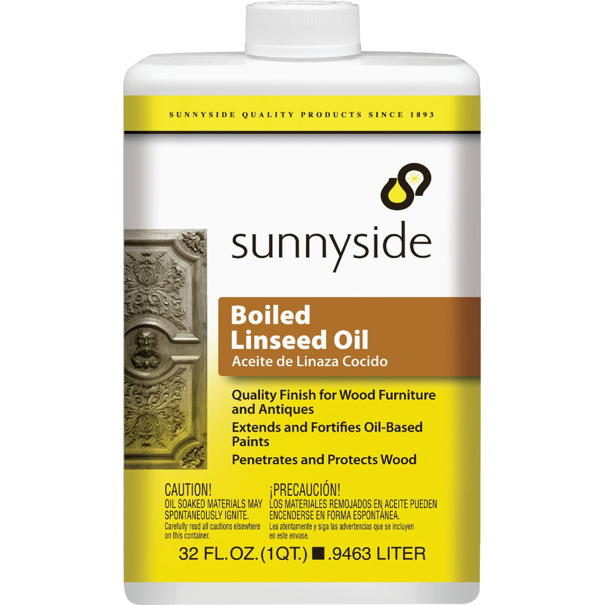 BOILED LINSEED OIL - 87232 by Sunnyside Corp