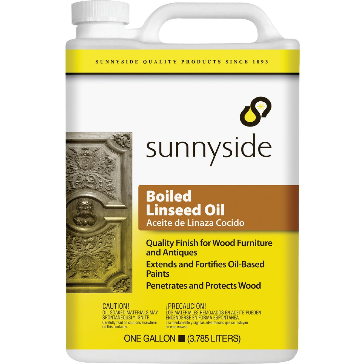 BOILED LINSEED OIL - 872G1 by Sunnyside Corp